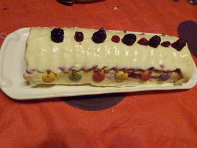 buche fruits rouges mousse ivoire (4)