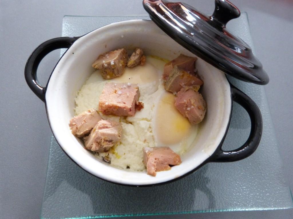 oeuf cocotte foie gras