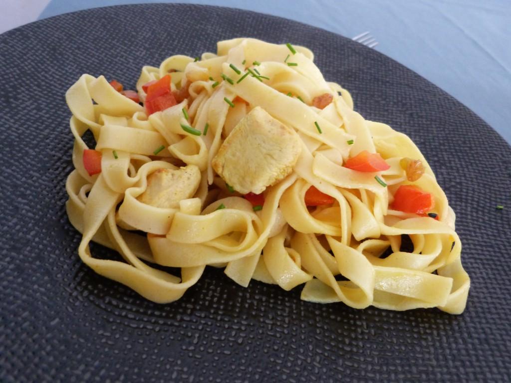 tagliatelles poulet poivrons pignons citron (1)