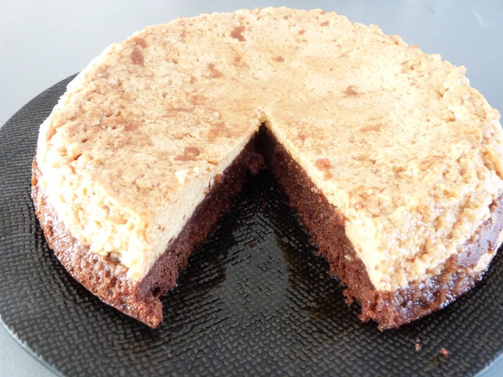 gateau magique chocolat flan vanille (3)