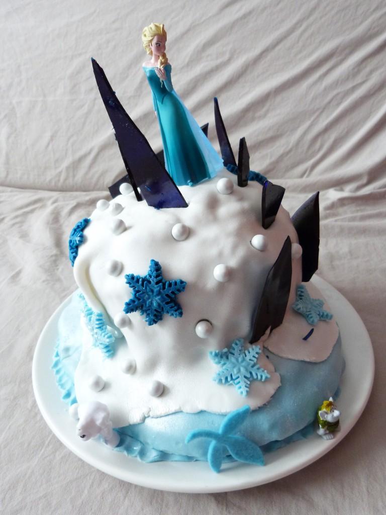 gateau reine des neiges (8)