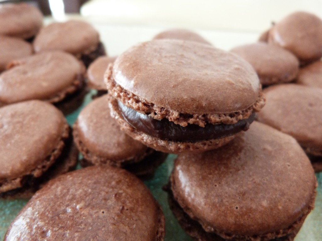 macarons chocolat pistaches (12)