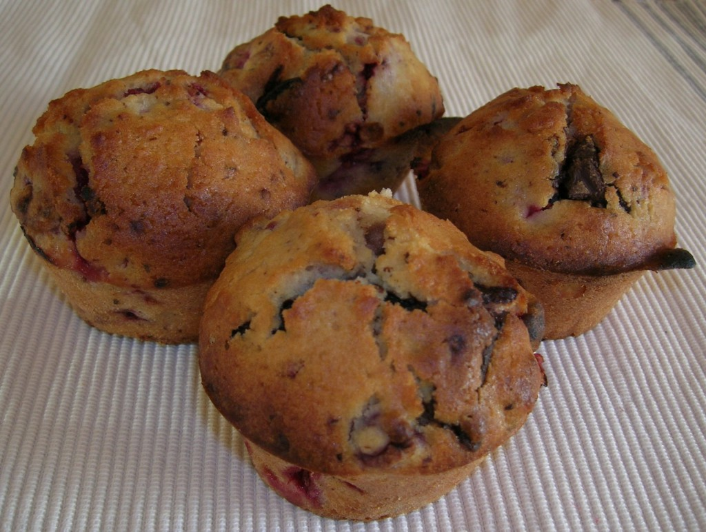 muffins-framboises-chocolat-amandes