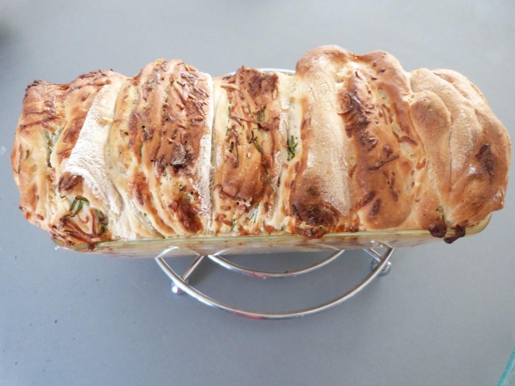 Pull apart bread ciboulette creme rape (12)