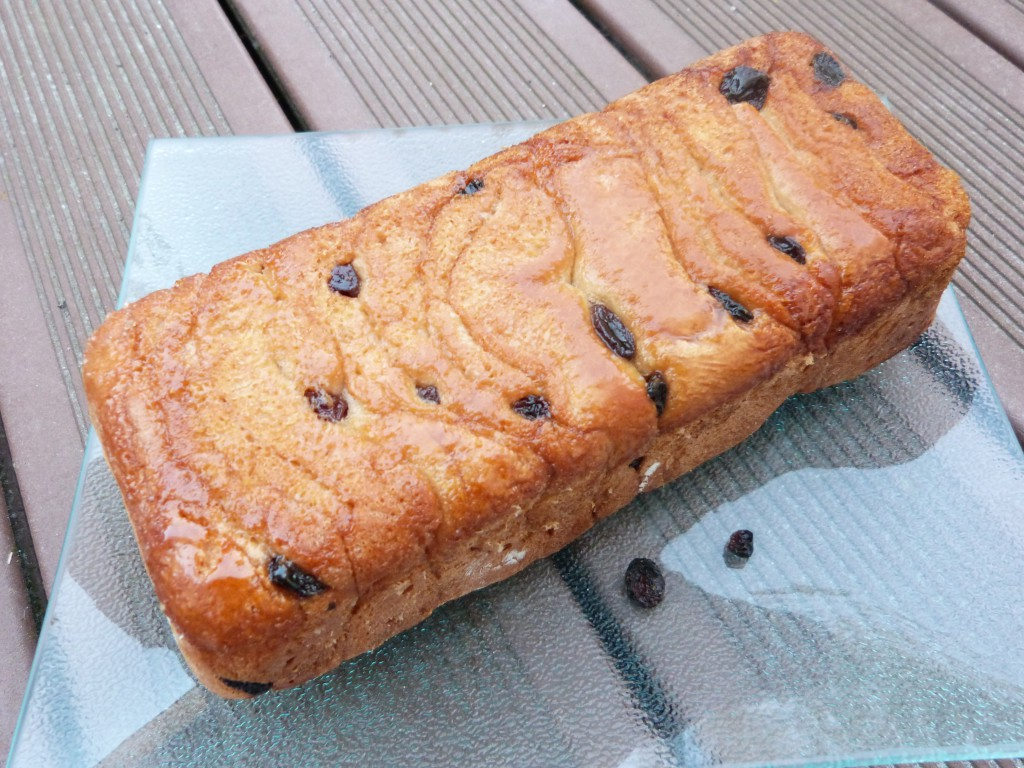 pull apart bread raisins (8)