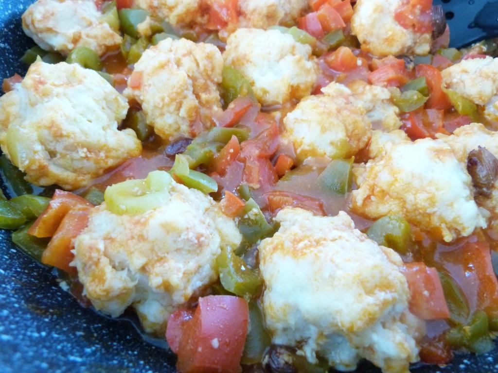 boulettes poisson aux deux poivrons tomates (3)