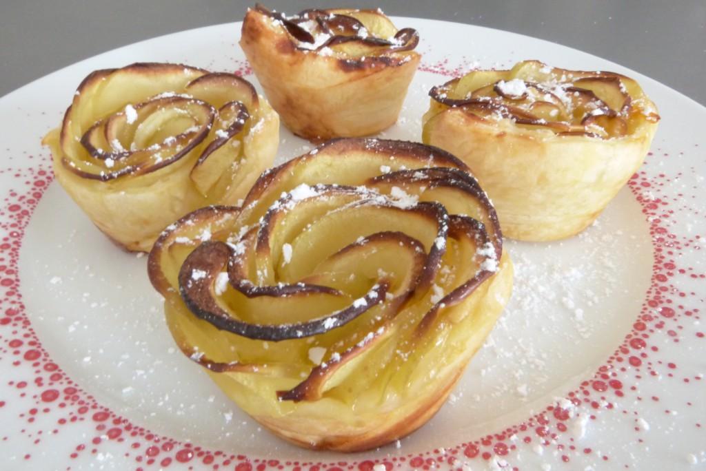 Tartelettes roses de pommes (7)