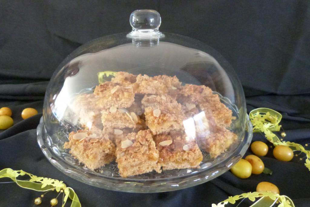 carrés gourmands prunes jaunes choc blanc amandes (21)