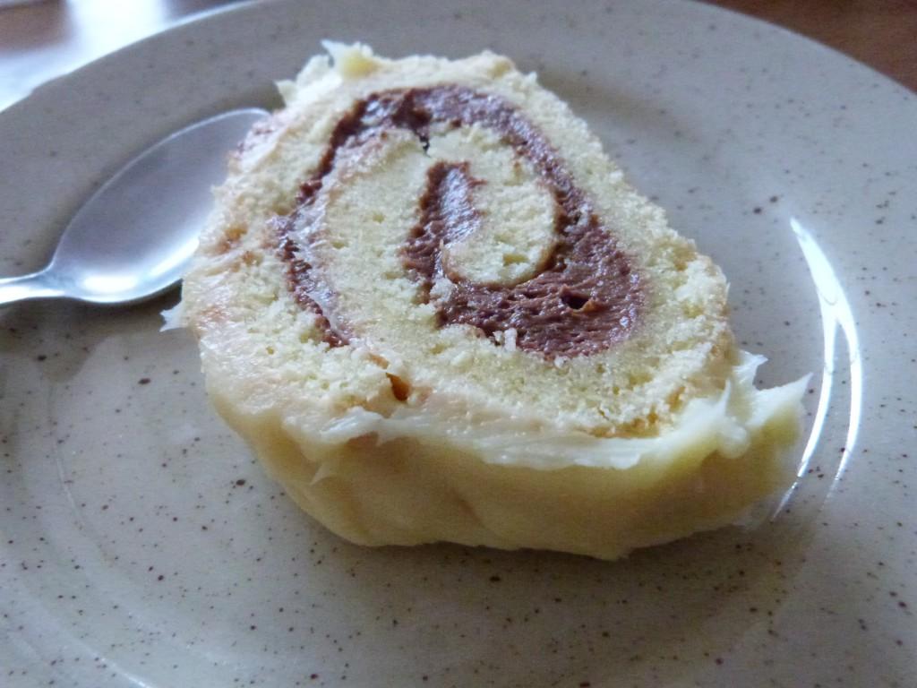 buche chocolat blanc ganache ovomaltine (12)