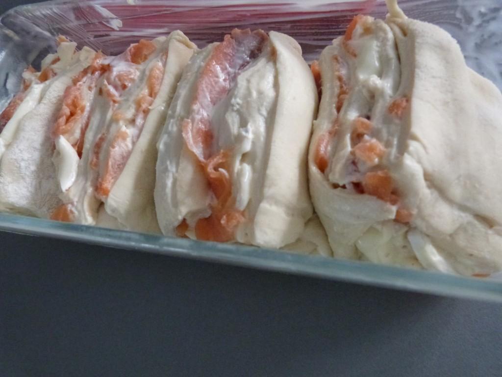 pull apart bread saumon chèvre (4)