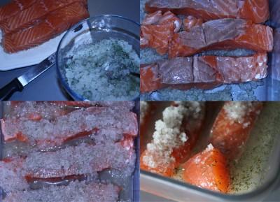 Saumon gravlax PAS A PAS