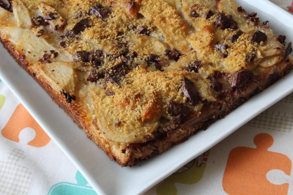 tarte chocolat caramel poires (5)