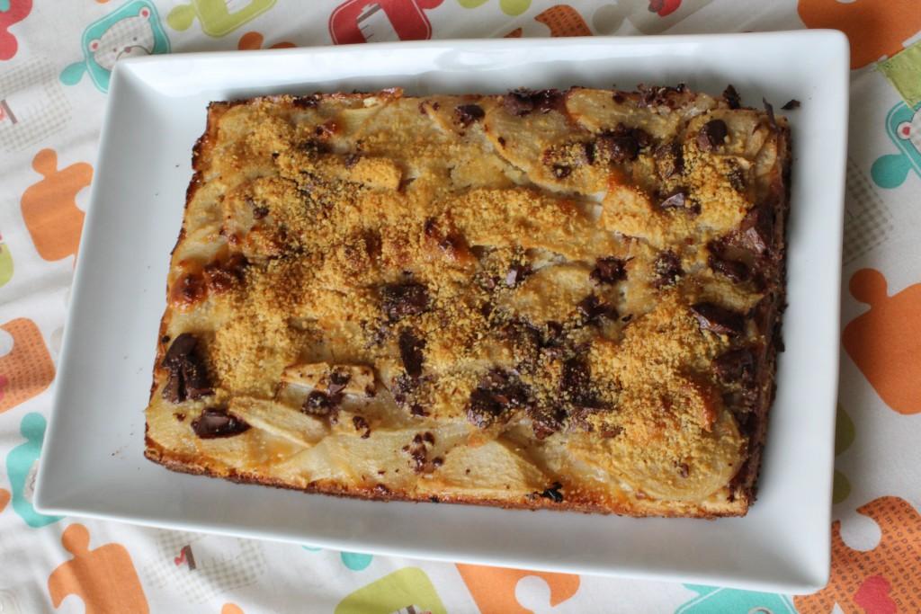 tarte chocolat caramel poires (7)