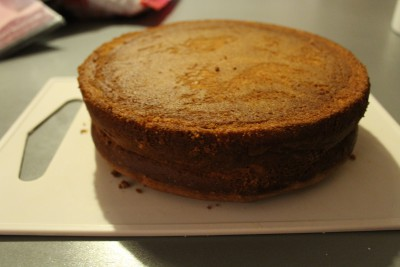 Chateau princesse Molly cake ganache caramel enrobage chocolat noir (14)