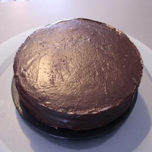 Chateau princesse Molly cake ganache caramel enrobage chocolat noir (25)