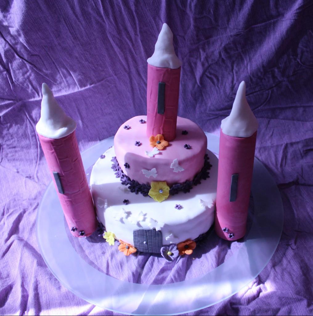 Chateau princesse Molly cake ganache caramel enrobage chocolat noir (27)