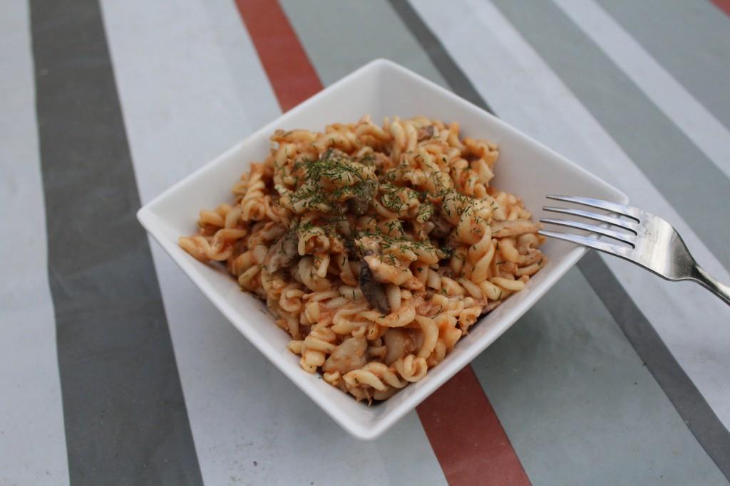 One pot pasta thon champignons tomate (14)