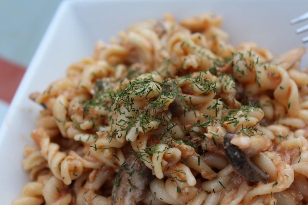 One pot pasta thon champignons tomate (16)