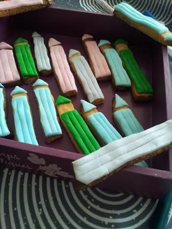 Biscuits crayons couleurs 2