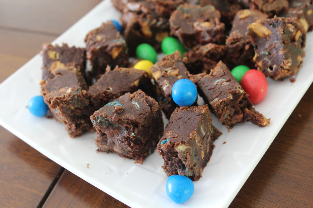 brownies aux m & m s (3)