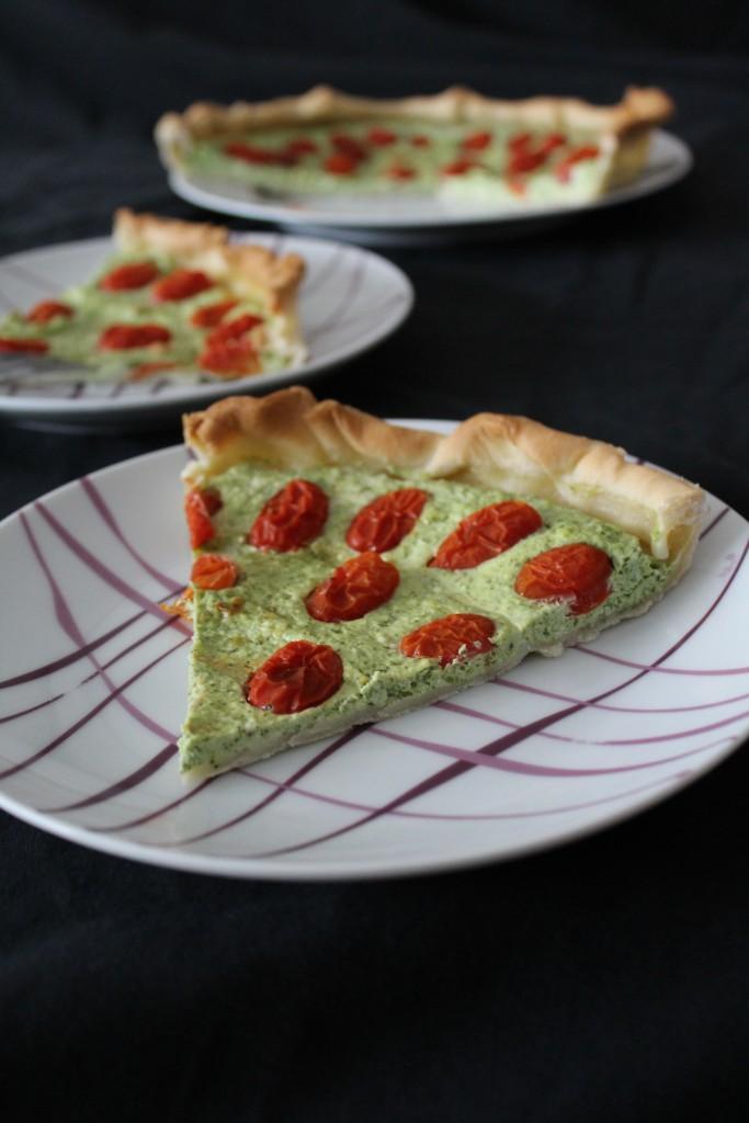 tarte-roquette-ricotta-tomates-cerise-4