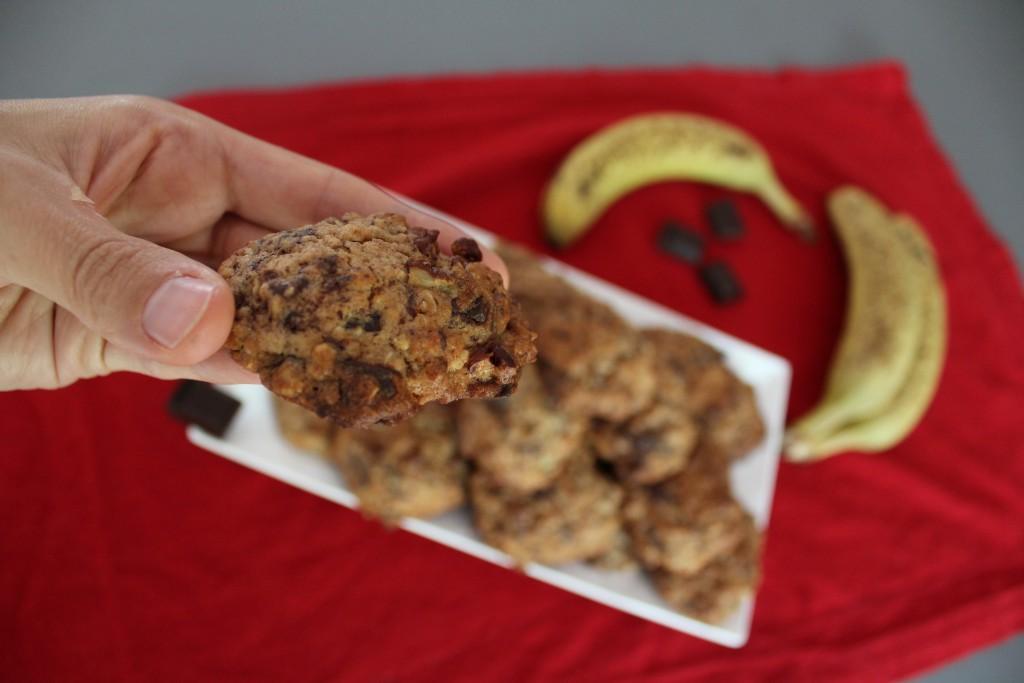 cookies chocolat banane noix (1)