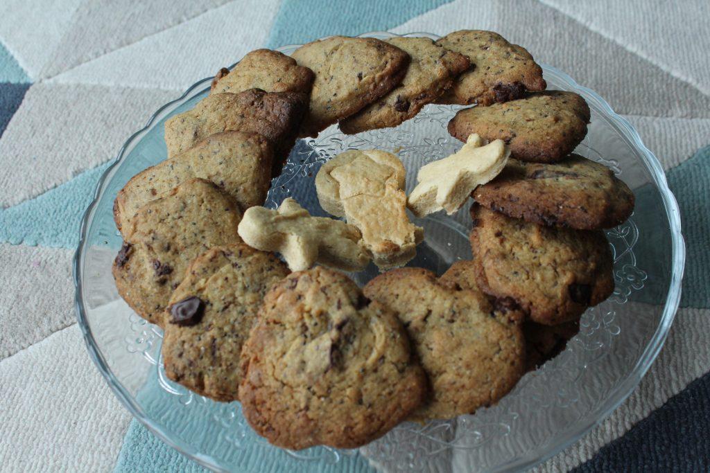 Chewy cookies juste parfait chocolat blanc chocolat noir graines de chia qui aime - Very parfait chocolat blanc ...