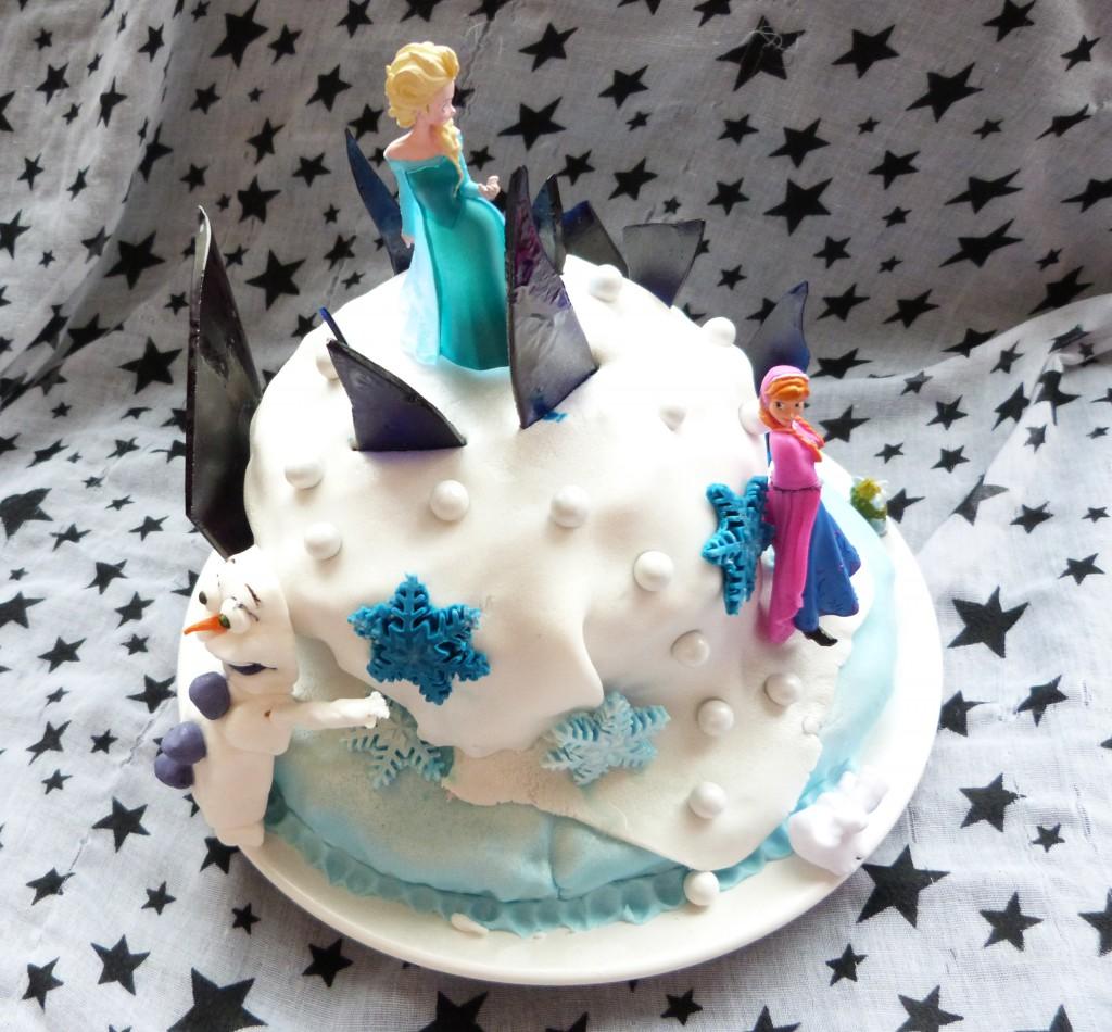 Fabuleux Gâteau reine des neiges - Qui aime cuisiner aime mangerQui aime  LX21